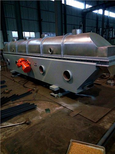 振动流化床干燥机发往浙水投入使用