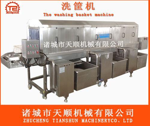 天顺公司洗筐机和市场普通洗筐机区别