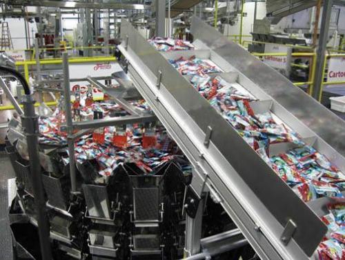 福建同发糖业投入首条糖果生产线 年产量可达10万吨