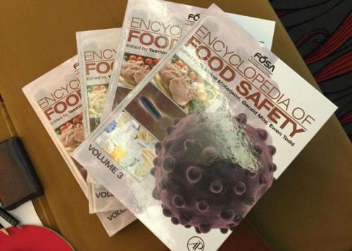 《世界食品安全百科全书》预计于2018年6月出版