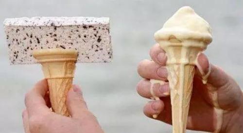 谁说冬天不适合吃冰激凌的?日本研制出能点燃的冰激凌