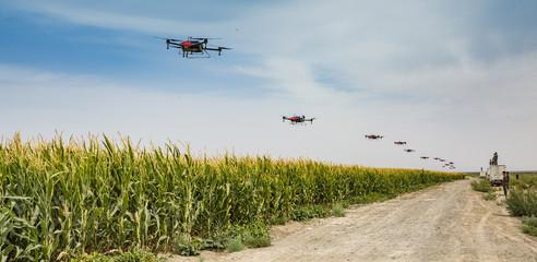 无人机为农业生产带来经济和社会效益