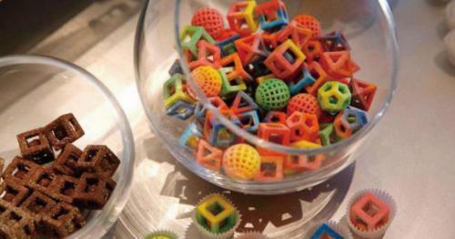 食品3D打印未来10万亿元市场