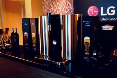 LG智能啤酒机一次产量5L 可调5种口味