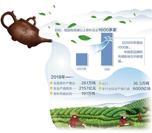 茶产业发展呈现三大趋势