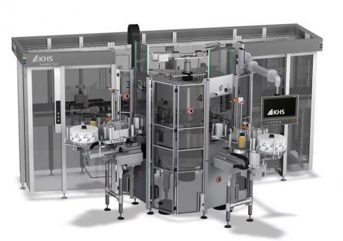 KHS科埃斯推出易拉罐贴标设备:灵活、紧凑、柔和