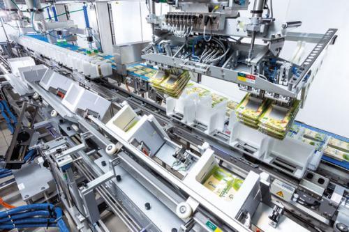 """""""特殊""""的奶酪机器人包装机械"""
