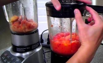 轻松清洗食品搅拌机