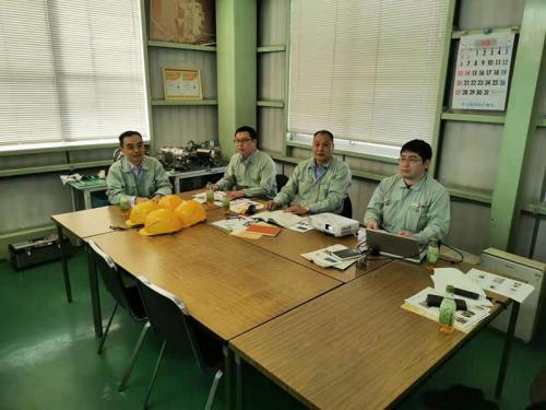 寧波建和人員赴日本學習考察