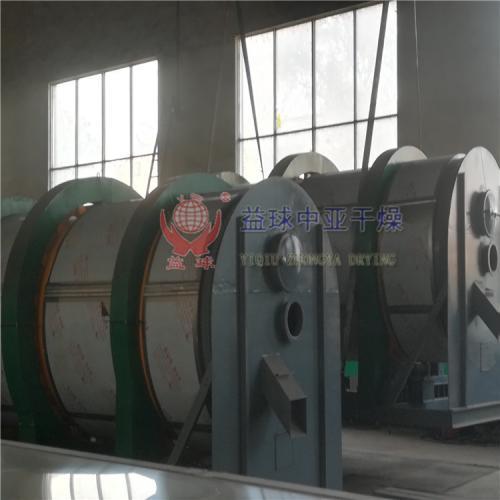 安徽客户订购的HZG系列回转滚筒干燥机发货现场