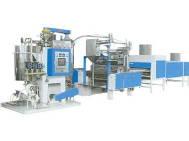 真空薄膜熬糖连续浇注成型自动生产线