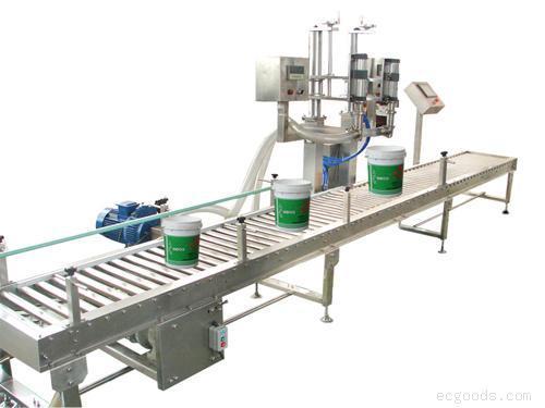 涂料灌装线/防水涂料灌装线/液体灌装线/液体自动灌装线
