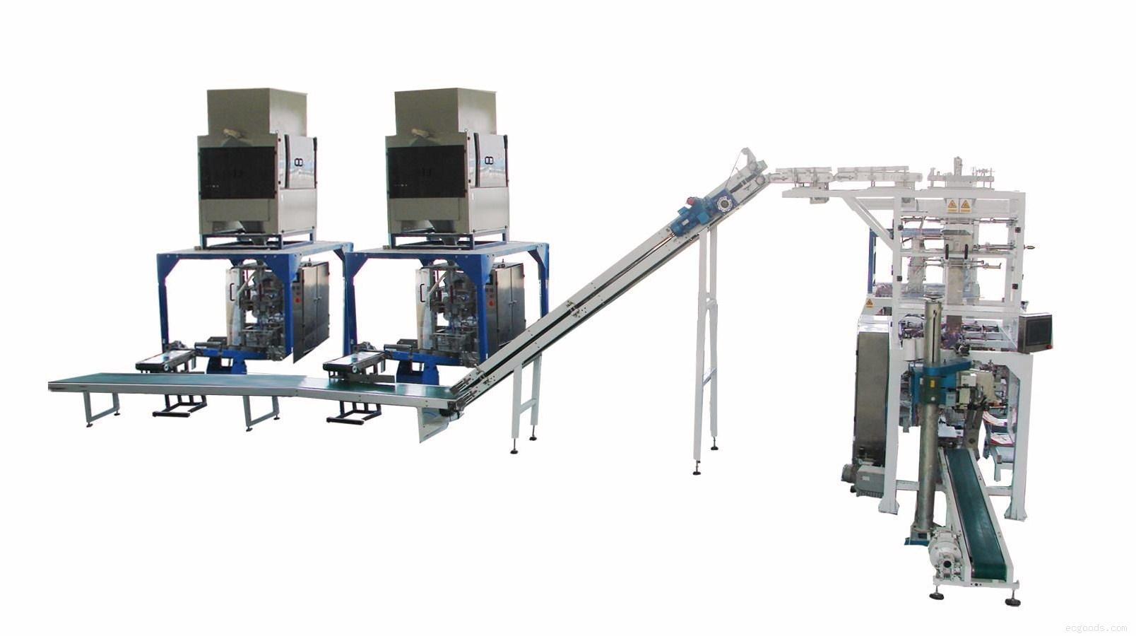 二次包裝機/小袋自動裝大袋包裝機/自動給袋式二次包裝機/全自動包裝機/多功能包裝機/自動化包裝設備