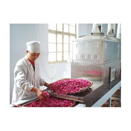 微波玫瑰花干燥蒸餾機