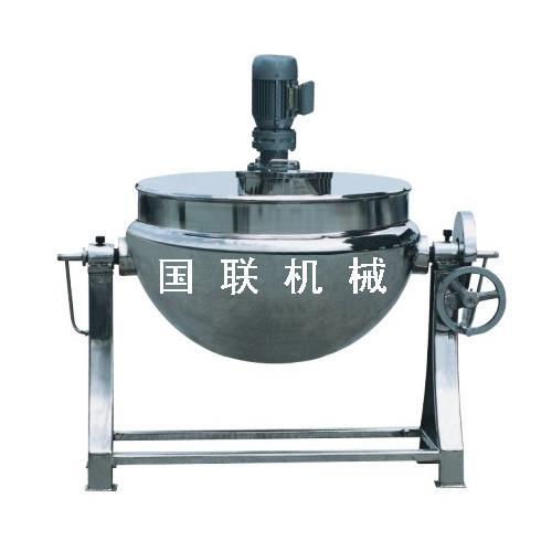 可倾、固定式夹层锅