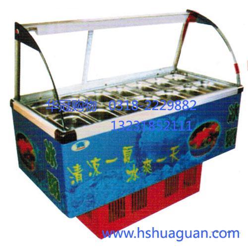 流动水果冰粥机