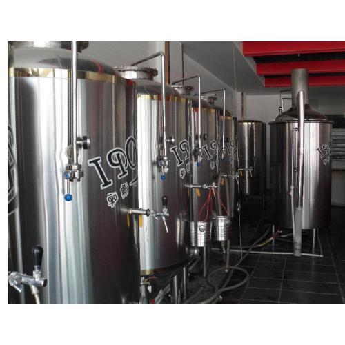 低价出售二手自酿啤酒设备二手1000L自酿啤酒设备