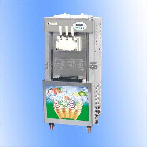 三色220v冰淇淋机36升软冰淇