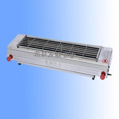 厂供商用燃气无烟烧烤机 加长型燃