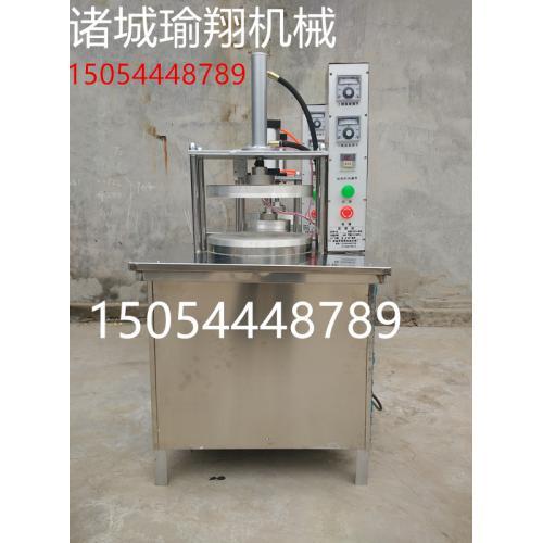 商用单饼机压饼机烤鸭饼机潍坊朝天锅饼机