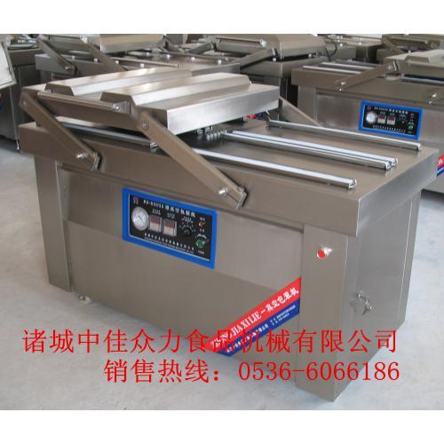 供应中佳四封条真空包装机不锈钢面板制作 可加工定做
