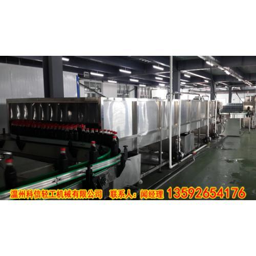 PET格瓦斯饮料制作设备|小型格瓦斯饮料生产线(全自动灌装机