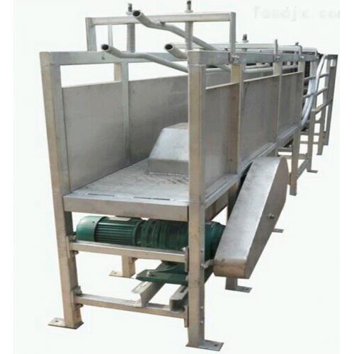 屠宰设备流水线 牛气动翻板箱 牛翻板箱