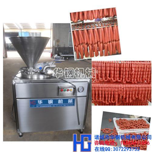 厂家直销YG-30液压灌肠机/全自动烤肠灌肠机