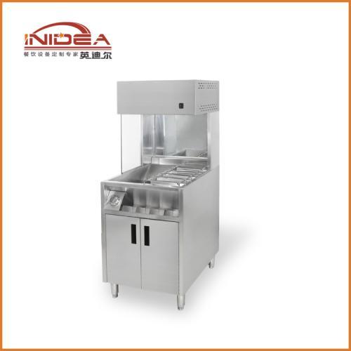 厂家批发直销1米台式薯条保温柜 展示柜 炸鸡汉堡店设备