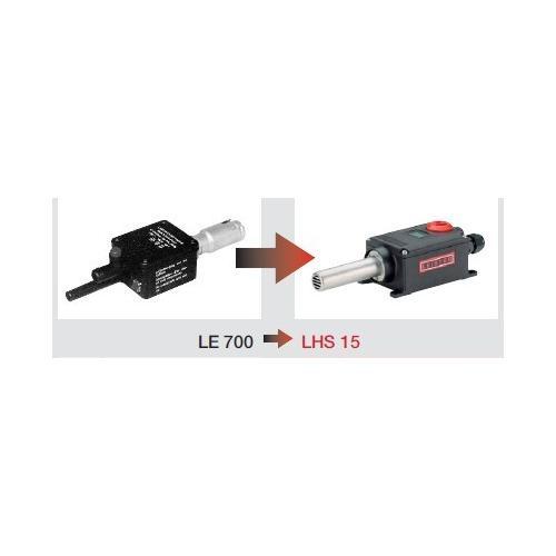 莱丹LHS15空气加热器外型小巧