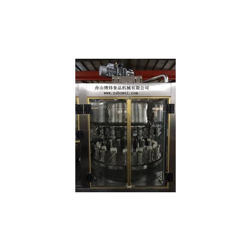舟山封罐机饮料机械厂家饮料易拉罐常压灌装机
