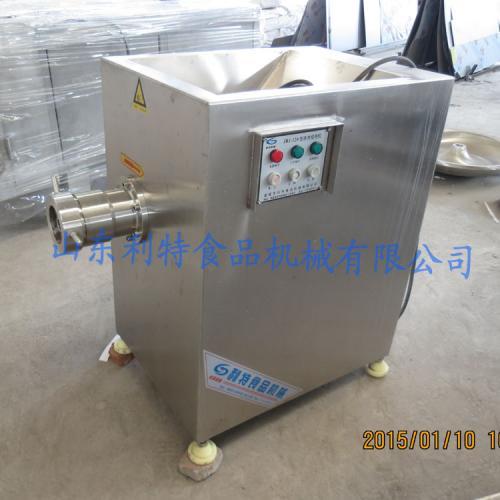 不锈钢冻肉绞肉机 大型绞冻肉盘设备