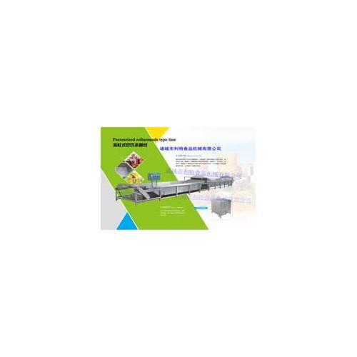 利特机械专业生产滚杠式巴氏灭菌机