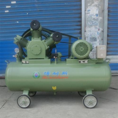 (洁净气源)食品机械配套 两级压缩10公斤无油活塞式空压机