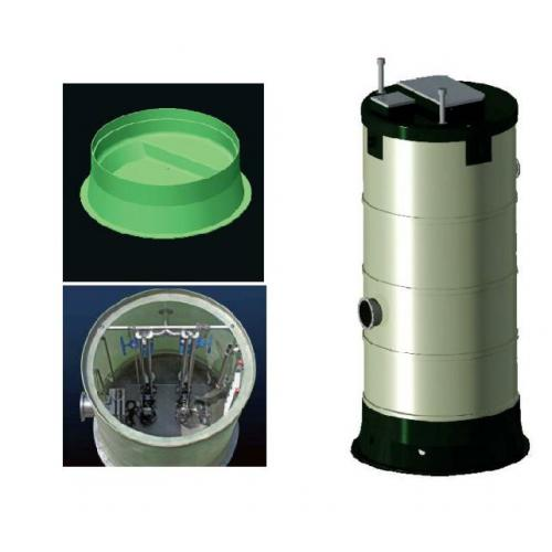 污水一体化泵站产品价格,污水一体化泵站厂家