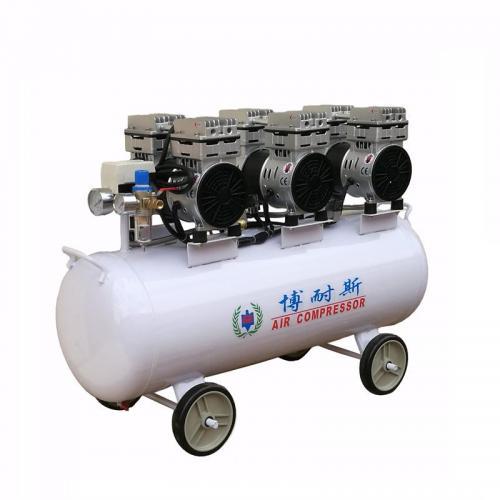 包装设备配套静音空压机 微型免维护静音无油空压机