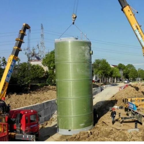一体化预制泵站,PPS预制泵站