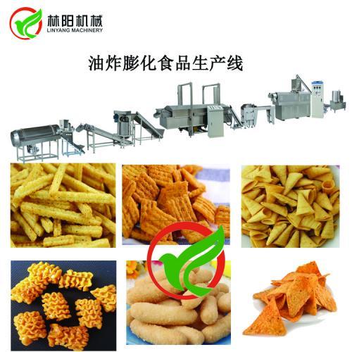 锅巴生产设备,玉米锅巴生产设备