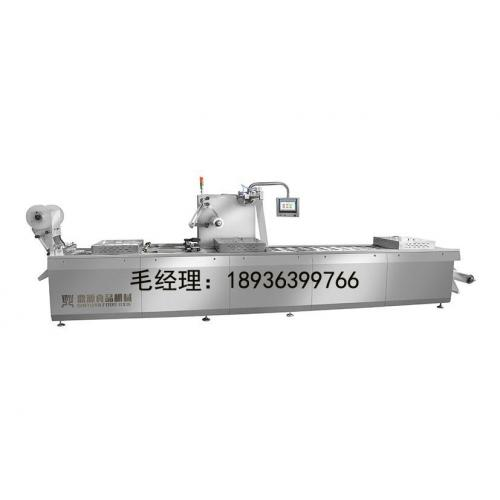 DY-420/520全自动连续拉伸膜真空包装机
