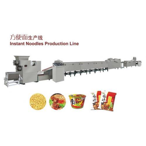 全自动小型方便面压面机设备生产线