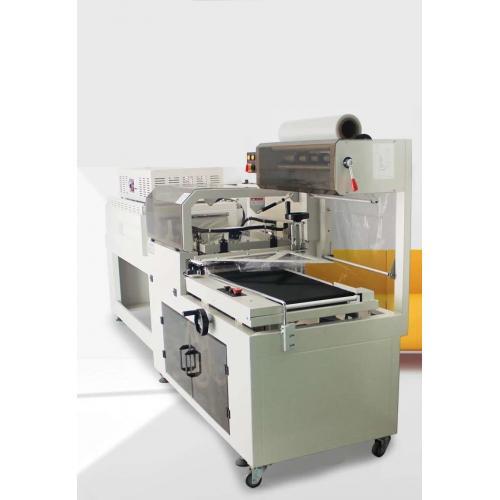 全自动L型封切包装机450型薄膜封切套膜机