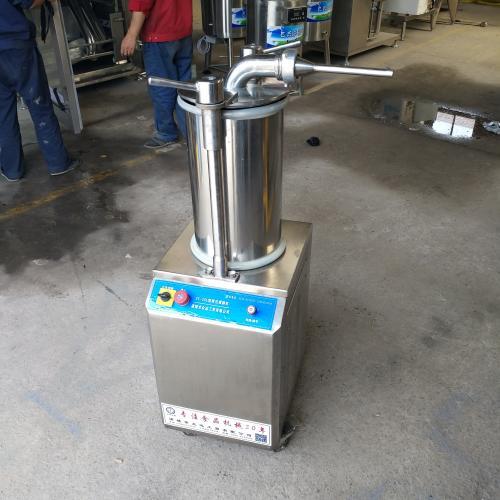 气动定量扭结灌肠机 小型灌肠机厂家直销