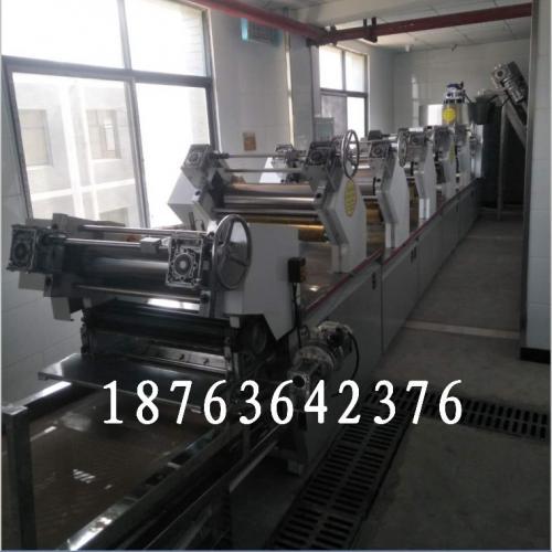 热干面机器厂家 新型热干面自熟生产线 自熟面条设备