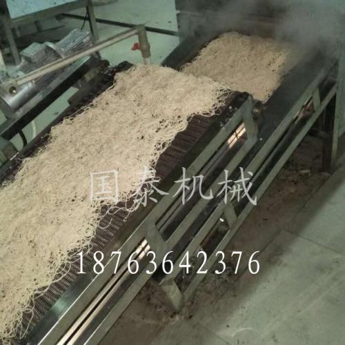 一次成型炒面设备全自动炒面生产线 自熟炒面卤面机器
