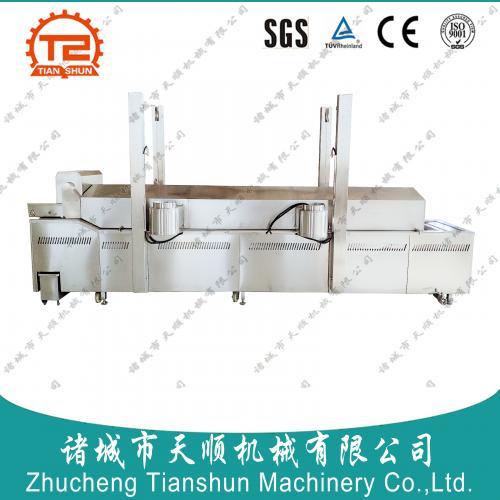 安徽省恰恰电加热TSZD-60型椒盐花生全自动油炸线