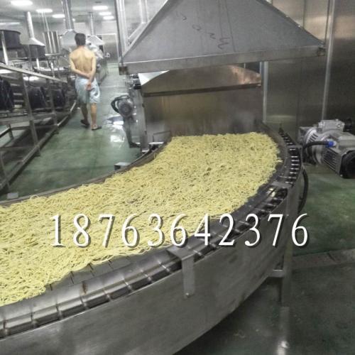 碱水面自熟生产设备 全自动热干面设备 熟面条加工机器
