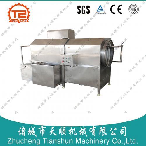 潍坊恒途牌自动化新款中药材草果清洗机(成套加工设备)