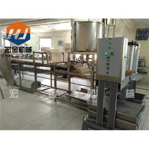 新型全自动豆腐皮机生产线数控操作包教技术