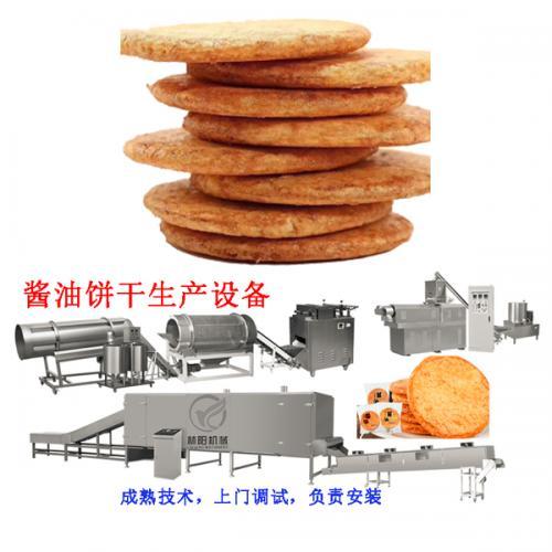 酱油饼生产设备带技术