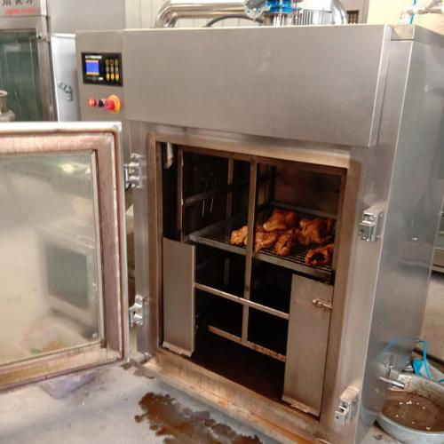 小型全自動煙熏爐 哈爾濱紅腸加工設備